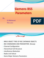 Siemens Parameters Training