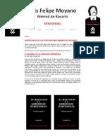 Luis Felipe Moyano - Libros