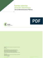 Archivo Electronico. Software Fuentes Abiertas Administración Electrónica.