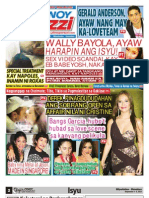 Pinoy Parazzi Vol 6 Issue 111 September 4 - 5, 2013