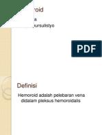 Hemoroid Dr.dadik