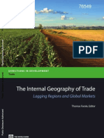 The International Geography of Trade