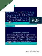 Basic Spanish (Pronunciation)-Signed