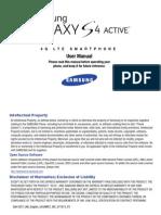 ATT SGH-i537 Galaxy S4 Active English JB User Manual MF2 F5