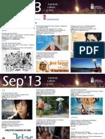 Agenta Cultural Sept 3 Al 11