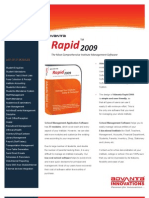 Advanta Rapid Brochure School College Software