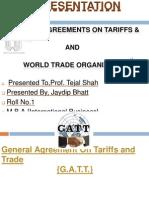 WTO & GATT