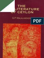 91538139 the Pali Literature of Ceylon