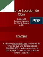 Contrato de Locacion de Obra
