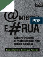 A Internet e a Rua  - Henrique Antoun/Fábio Malini