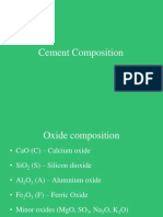 2. Cement Composition and Special Cements - Part 1