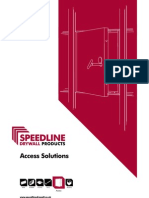 A5 Speedline Access Panel Product Guide Lo-Res