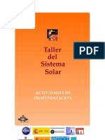 Actividades de Profundizacion(Sistema Solar)