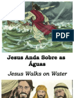 Jesus Anda Sobre as Águas - Jesus Walks on Water