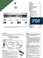 DVD/CD Player / Video Cassette Recorder NV-VP33 / NV-VP28 / NV-VP23