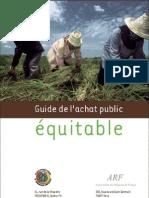 Guide Achat Public Equitable