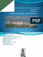 Viajar por Antioquia toda una fiesta''ituango sarah