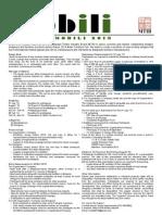 MOBILI 2013 Design Brief Flyer