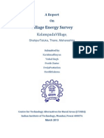 Village Energy Survey KalampadaVillage, ShahpurTaluka, Thane, Maharashtra