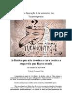 A fajuta Operação 7 de setembro dos Tucanonymous