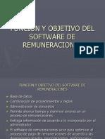 Funcion y Objetivo Del Software de Remuneraciones