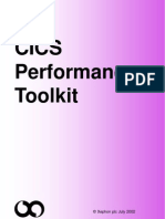 CICS Performance Toolkit