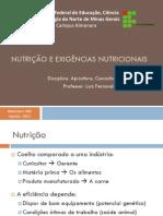Cunicultura - Nutrição e Exigencias Nutricionais