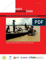 Disaster Risk Reduction and Livelihoods