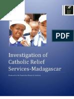 Madagascar Investigation