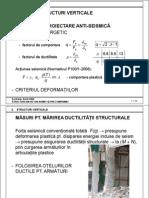 Structuri verticale beton armat