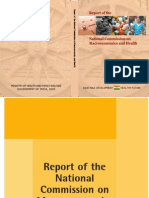 National Commission on Macro Economics and Health