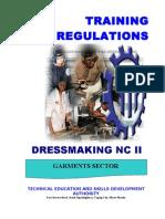TR - Dressmaking (Casual) NC II