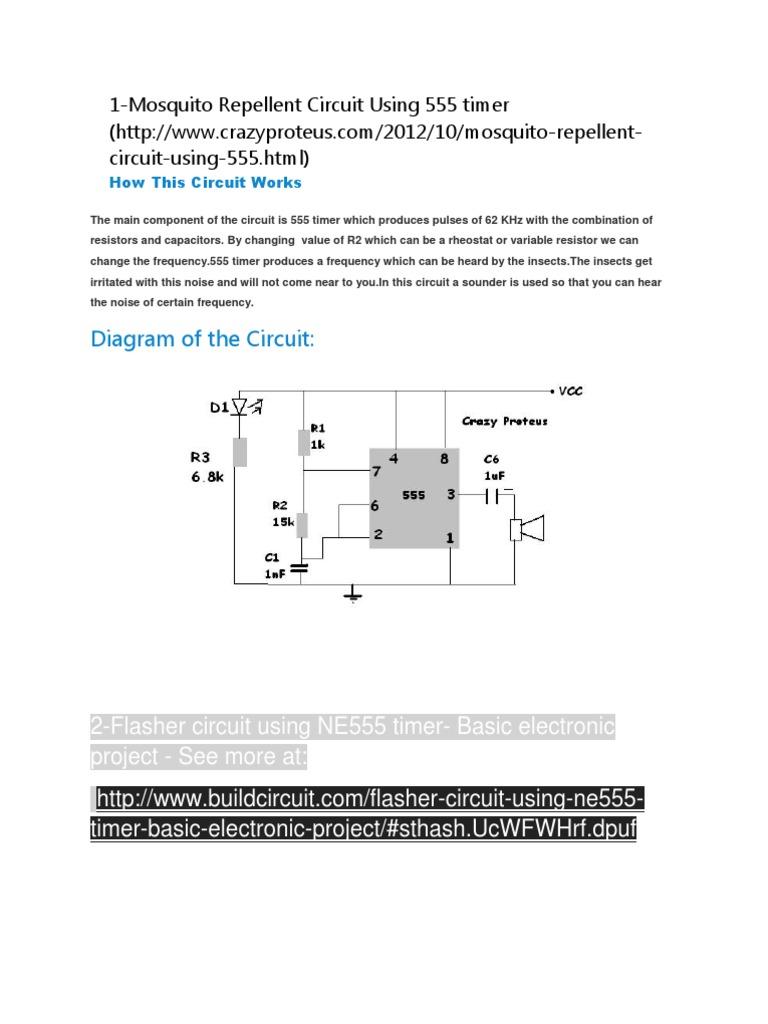 Mini Electronic Circuits Electrical Engineering