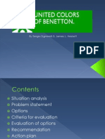 Benetton case analysis