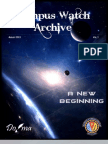 Campus Watch Archive Vol1 Aug13