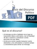 Analisis Del Discurso Politico One to Use