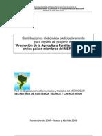 AFyC Documento - Red MERCOSUR 2009