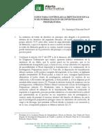 TABOADA PILCO, Giammpol. Tutela de derechos para controlar la imputación en la disposición de formalización de investigación preparatoria