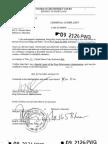 Wade Coats Complaint