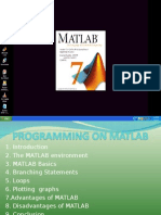 Programming on Matlab-lokesh