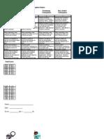 Participation Rubric-York Suburban-All Level One Classes-small
