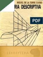 Geometria Descriptiva - Miguel de La Torre Carbo