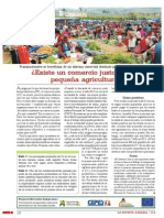 Existe Un Comercio Justo Para La Pequena Agricultura