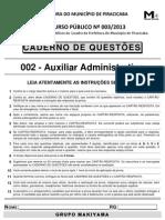 Auxiliar Adm 002