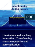 Curriculum and Teaching Innovation
