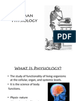 Intro to Physiology