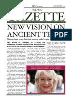 Friends' Gazette September Edition