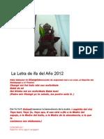 Letra 2012 Para La Revista