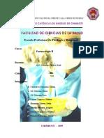 Informe de Farmcologia