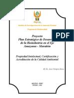 BIO1.2-C Propiedad Intelectual Certificacion y Acreditacion